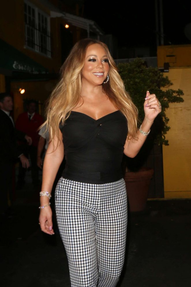 Mariah Carey - Night out in West Hollywood