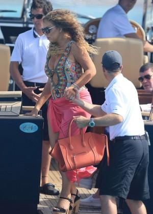 Mariah Carey On Vacation In Ibiza Gotceleb