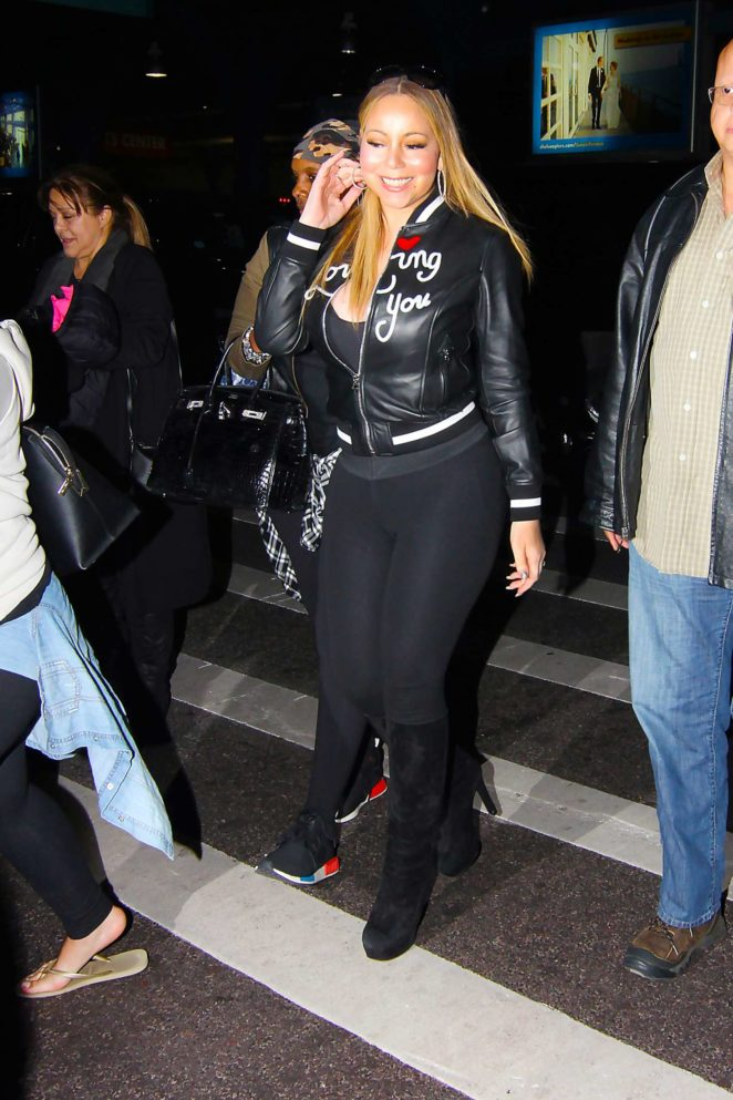Mariah Carey out and about in New York City