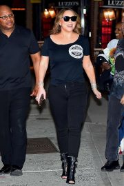 Mariah Carey - Out for a Dinner in New York City