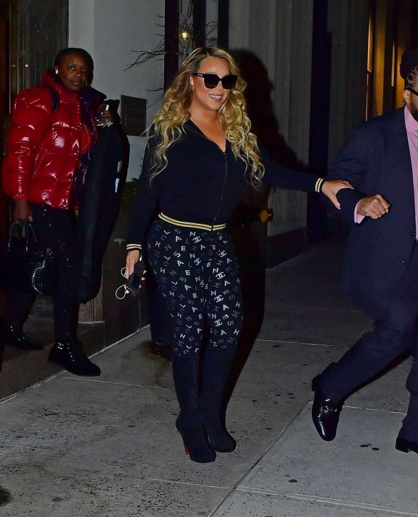 Mariah Carey - Out for a late dinner in New York City