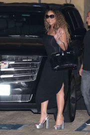 Mariah Carey - Out for dinner at Nobu in Malibu