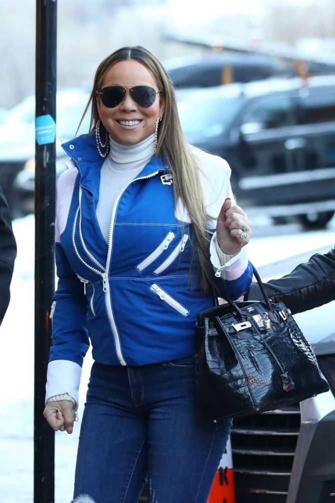 Mariah Carey – Out in Aspen