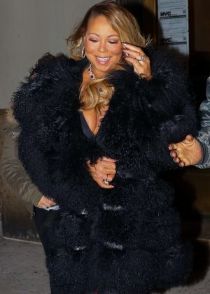Mariah Carey out in New York