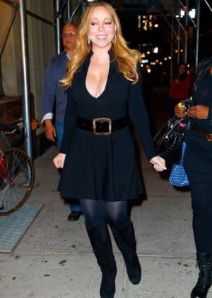 Mariah Carey Out in NYC