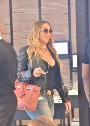 Mariah Carey - Out shopping in Beverly Hills