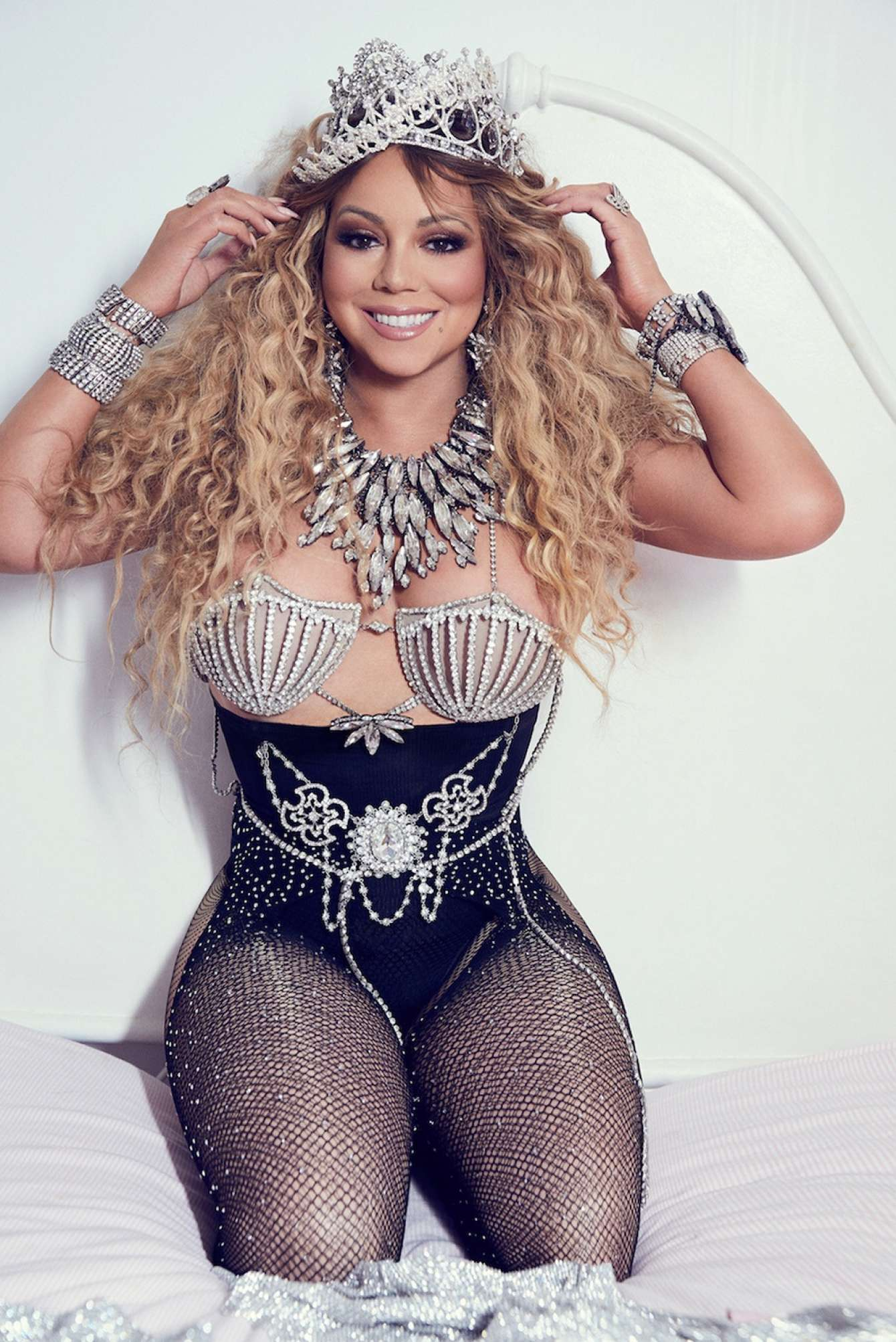 Mariah Carey Paper Mag Photoshoot By James White August