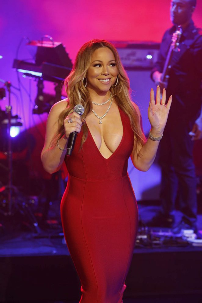 Mariah Carey - Performs at 'Jimmy Kimmel Live' in Los Angeles