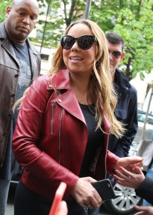 Mariah Carey - Shopping at Tom Ford Store in Paris