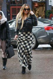 Mariah Carey - Shopping in Aspen