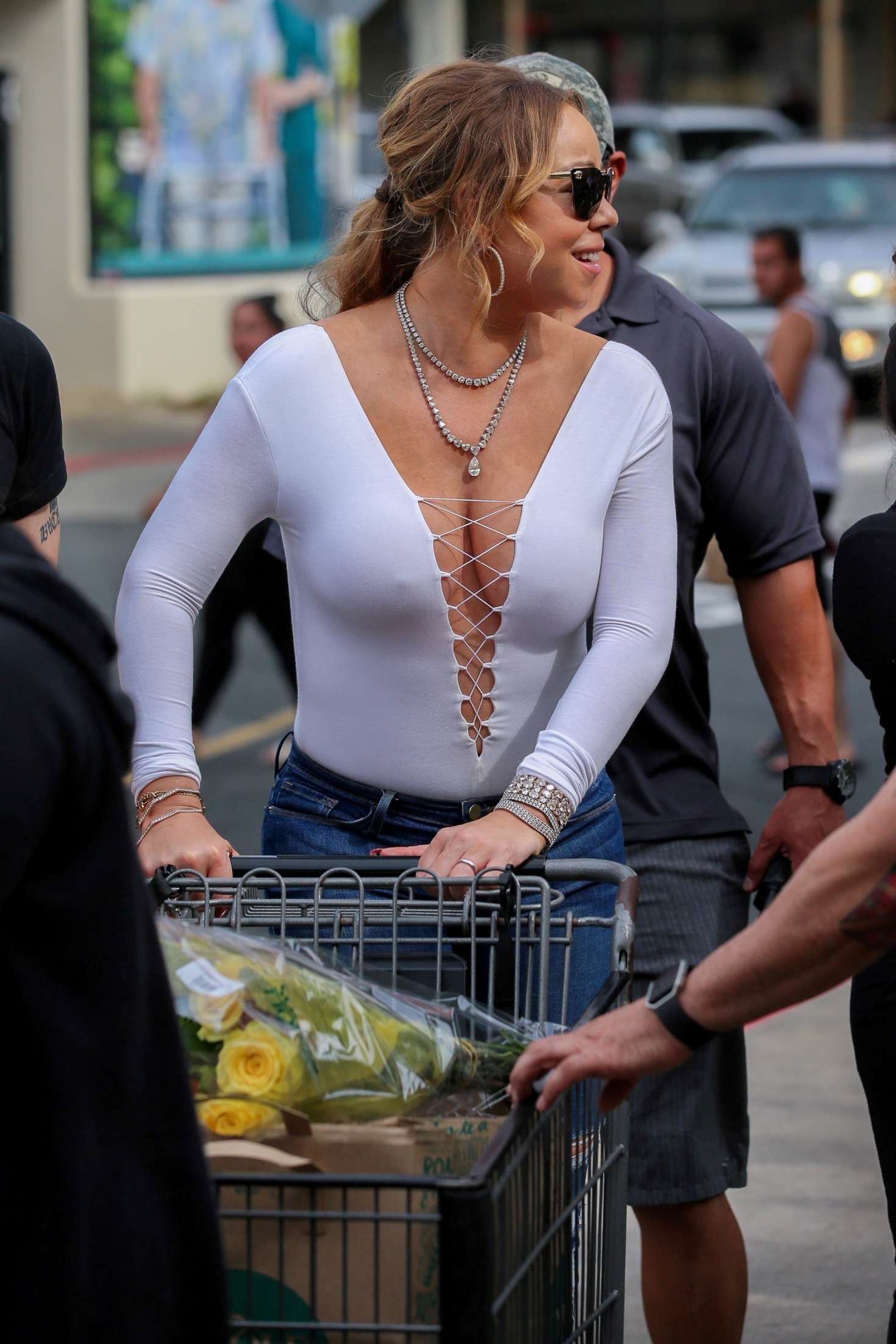 Tits On The Street