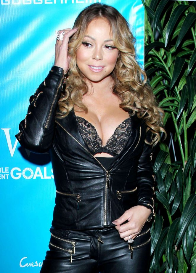 Mariah Carey - Special Event For UN Secretary-General Ban Ki-moon in Los Angeles