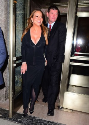 Mariah Carey with James Packer out in New York