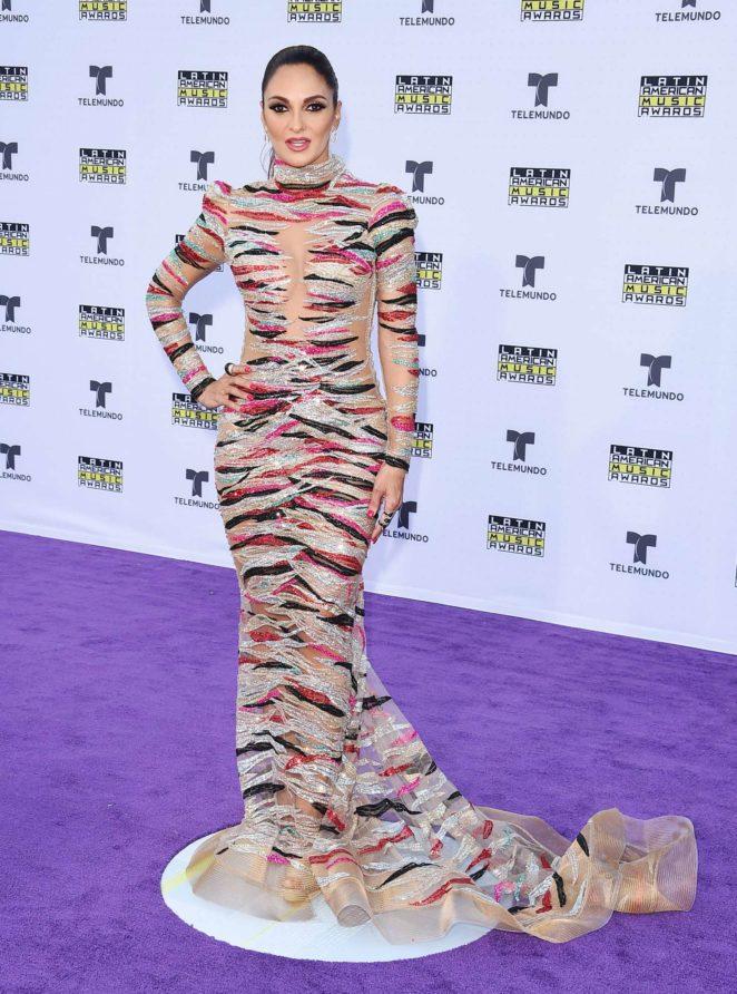 Mariana Seoane - Latin American Music Awards 2017 in Los Angeles