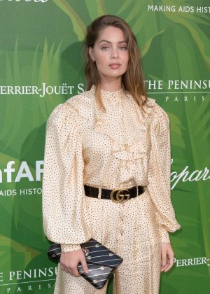 Marie-Ange Casta - 2018 amfAR Paris Dinner in Paris