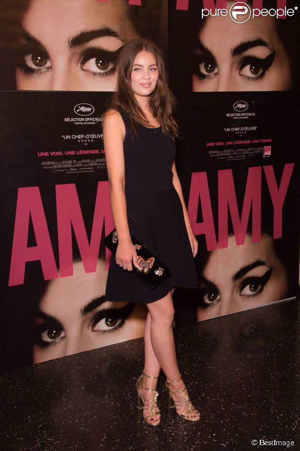 Marie Ange Casta - 'Amy' Paris Premiere in Paris