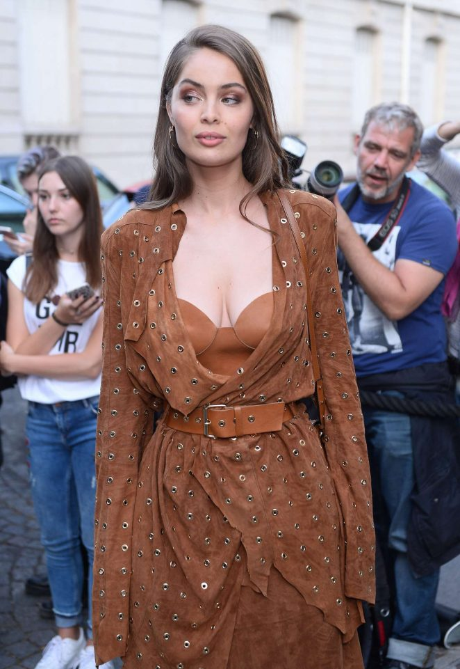 Marie-Ange Casta 2017 : Marie-Ange Casta: Attends the Vogue Party 2017 -02
