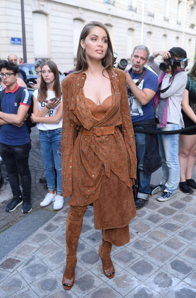 Marie-Ange Casta: Attends the Vogue Party 2017 -05