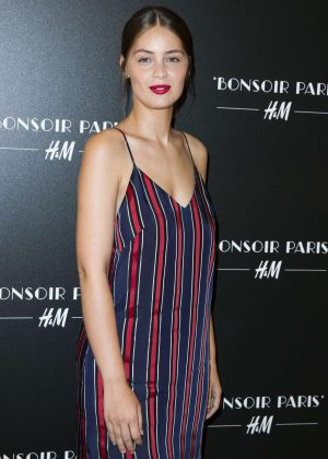 Marie-Ange Casta - Bonjour Paris H&M Flagship Opening Party in Paris