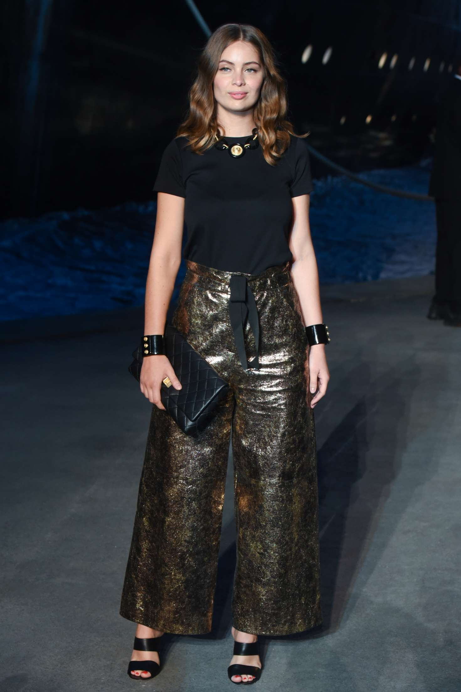 Marie-Ange Casta – Chanel Cruise 2018/2019 Collection Show ...