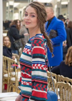Marie-Ange Casta - Chanel Fashion Show 2016 in Paris