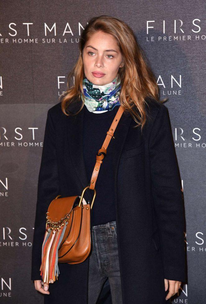 Marie-Ange Casta - 'First Man' Premiere in Paris