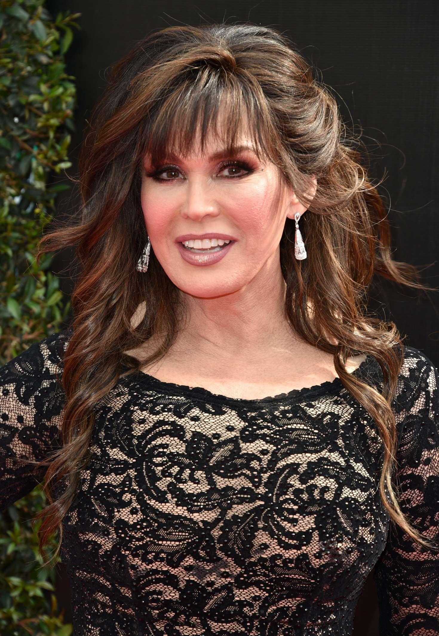 Marie Osmond 2018 Daytime Emmy Awards In Pasadena Gotceleb