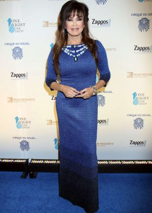 Marie Osmond - 'One Night For One Drop' Event in Las Vegas