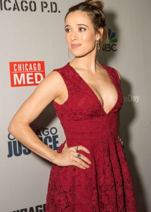 Marina Squerciati - Dick Wolf Kick-Off Party in Chicago