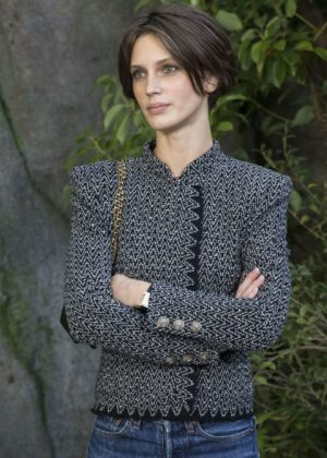 Marine Vacth – Chanel Fashion Show, Paris Fashion Week in Paris