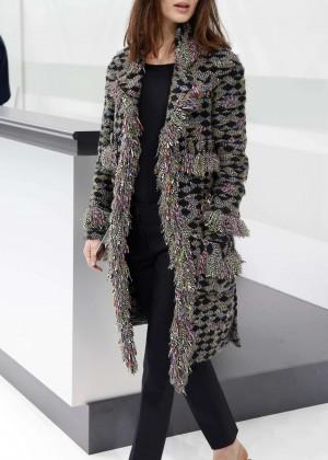 Marine Vacth - Chanel Show as part of Paris Fashion Week in Paris
