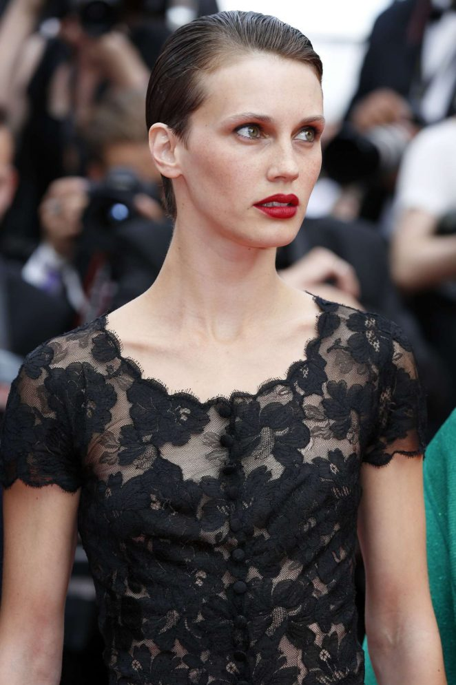 Marine Vacth: LAmant Double Premiere at 70th Cannes Film Festival -04