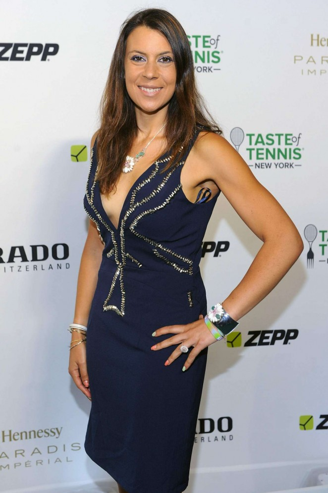 Marion Bartoli - Taste of Tennis Gala in NYC