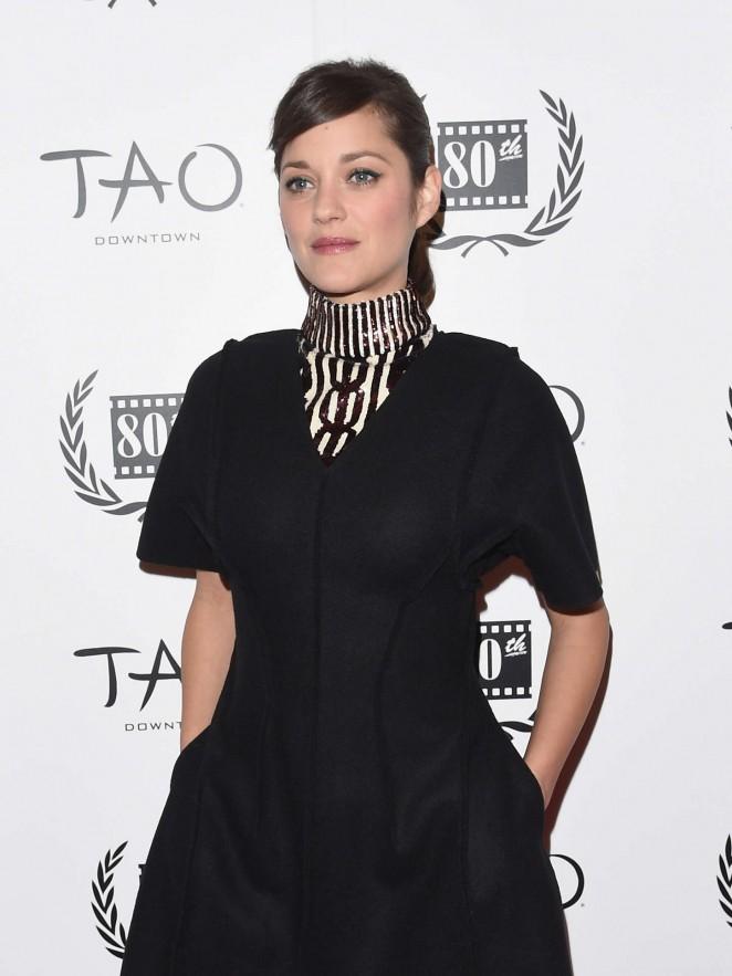 Marion Cotillard - 2014 New York Film Critics Circle Awards in New York City