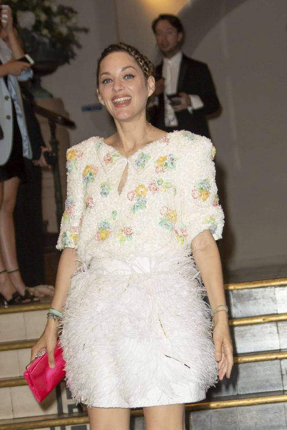 Marion Cotillard - Arrives at Vogue Party in Paris