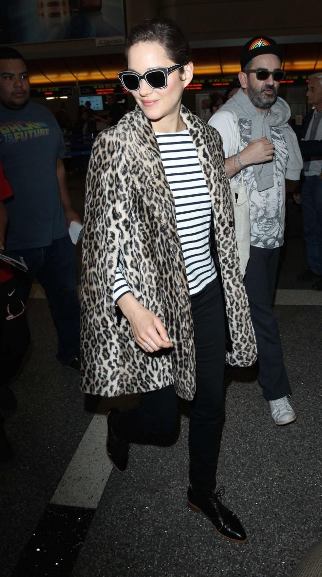 Marion Cotillard at LAX Airport -11
