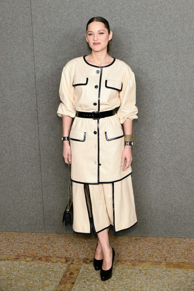 Marion Cotillard – Chanel Metiers d'Art Pre-Fall 2019 Fashion Show in NY