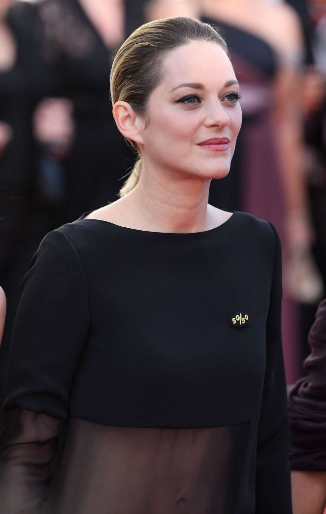 Marion Cotillard - 'Girls Of The Sun' Premiere at 2018 Cannes Film Festival