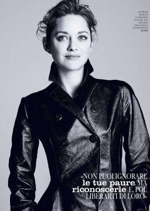 Marion Cotillard - Grazia Italy Magazine (January 2016)