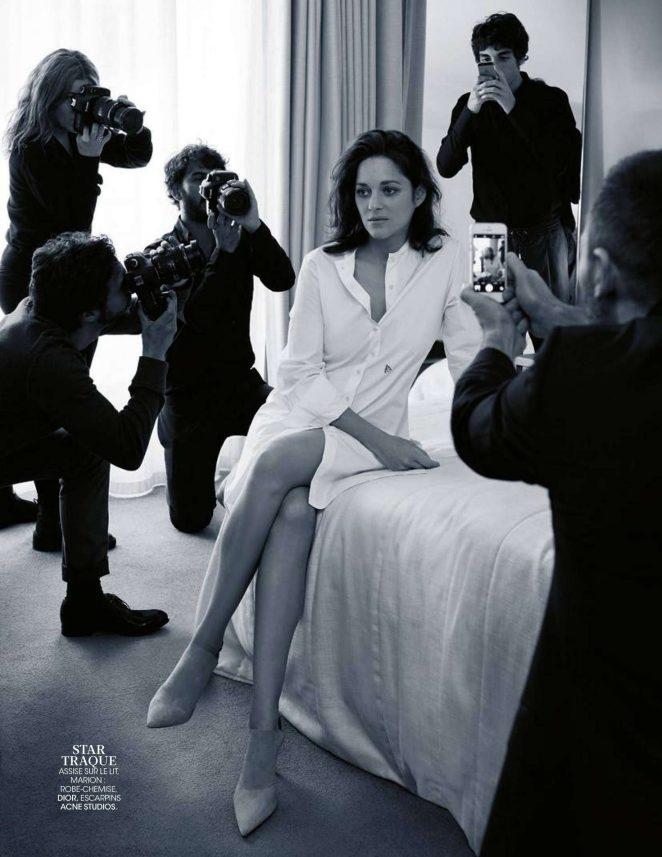 Marion Cotillard - Madame Figaro Magazine (February 2017)