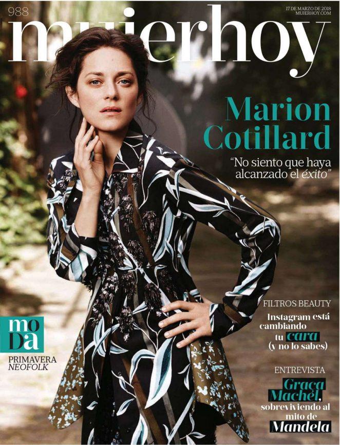 Marion Cotillard - Mujer Hoy Magazine (March 2018)