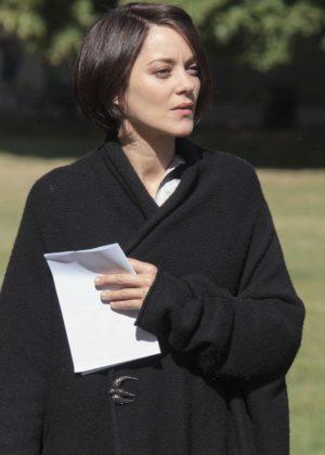 Marion Cotillard – On the set of 'Assassin's Creed' in Ely  Marion Cotillard