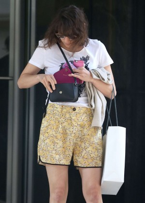 Marion Cotillard in Shorts out in NYC