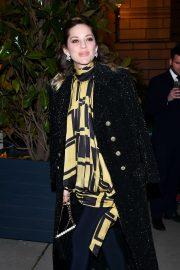 Marion Cotillard - Outside the 'Diner du Cinema - Madame Figaro' in Paris