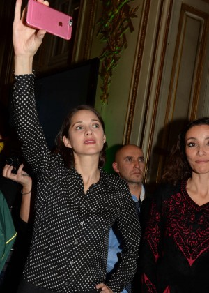 Marion Cotillard - Project Inauguration '1 Heart 1 Tree' in Paris