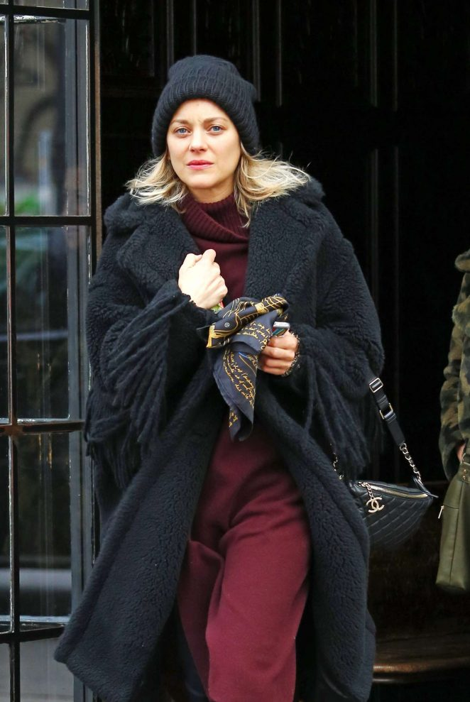 Marion Cotillard – Returns to the Bowery Hotel in New York