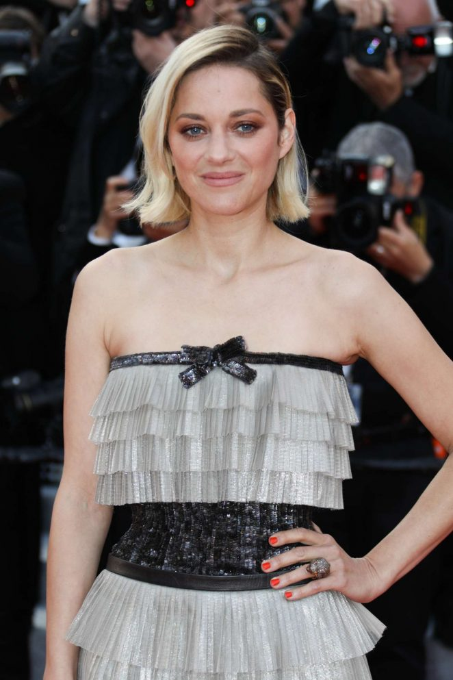 Marion Cotillard - 'Sink or Swim' Premiere at 2018 Cannes Film Festival