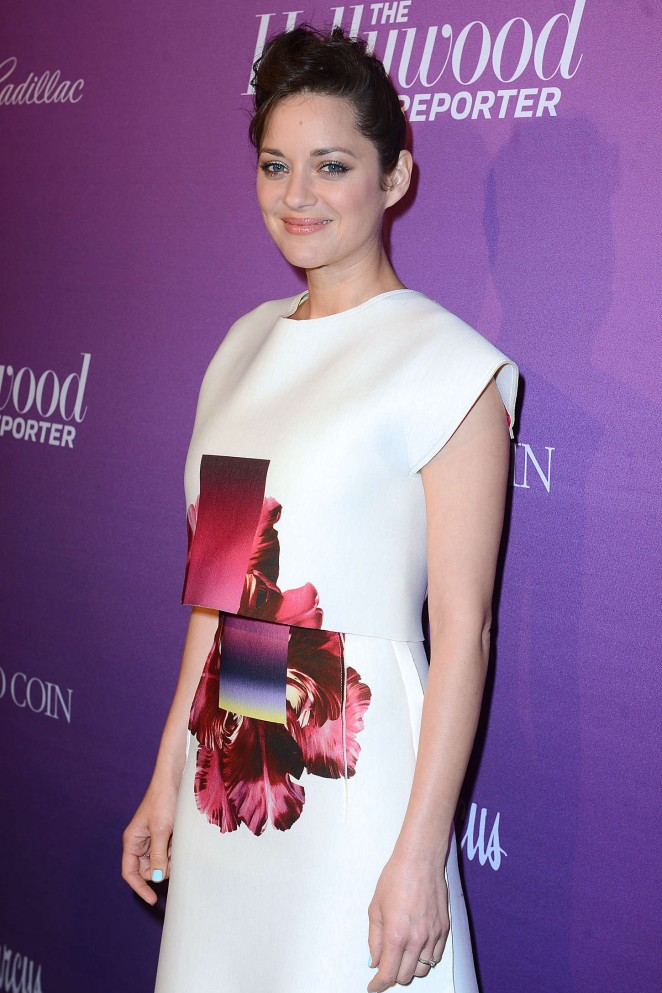 Marion Cotillard - The Hollywood Reporter's 2015 Nominees Night in LA