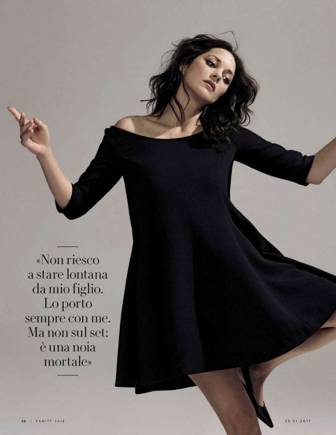 Marion Cotillard - Vanity Fair Italy Magazine (January 2017)