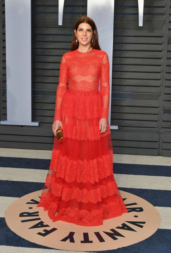 Marisa Tomei – 2018 Vanity Fair Oscar Party in Hollywood